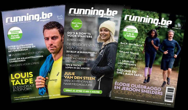 Running.be - Jaarabonnement (met korting)